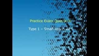 Video (training): epa cfc 608 - type 1 - small appliances - practice exam questions