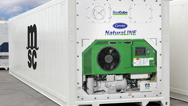 Shipper orders 2,000 CO2 reefers