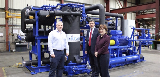 Ammonia heat pumps twice shortlisted for awards