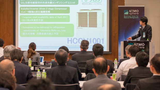 End users, policymakers back natrefs at first-ever ATMO Japan