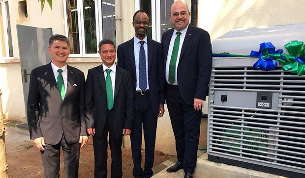 Bitzer supports training in Nigeria