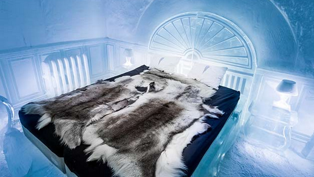 CO2 refrigeration maintains IceHotel