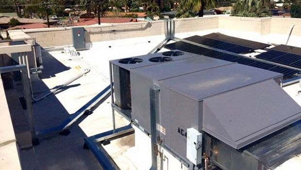 Cooling solution combines PV and ice storage