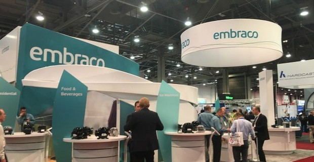 Embraco showcases compressor range at AHR Expo