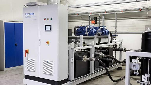 Engie CO2 heat pump in EU heat recovery project