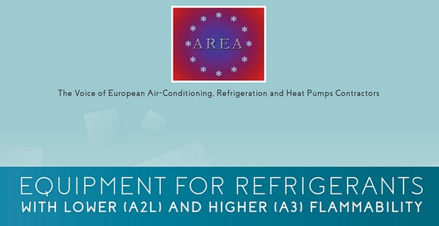 AREA guide about equipment for refrigerants with lower and higher flammability