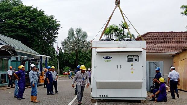 Indonesian pharmaceutical giant installs R290 chillers
