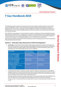 IoR offers free-to-download F-gas guide
