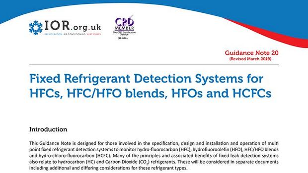 IoR updates leak detection guidance