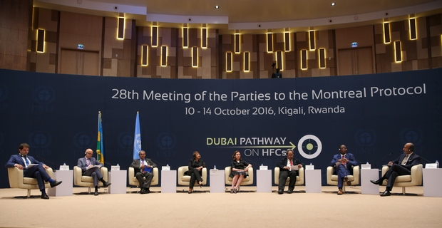 Summary of the twenty-eighth Meeting of the Parties to the Montreal Protocol