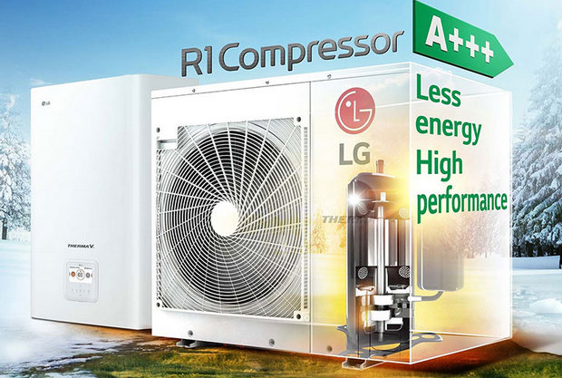 LG extends R32 use to Therma V split heat pump