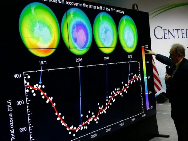 Report: Ozone Hole Has Shrunk by More Than Four Million Square Kilometers