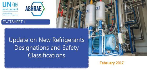 Refrigerant fact sheet free to download
