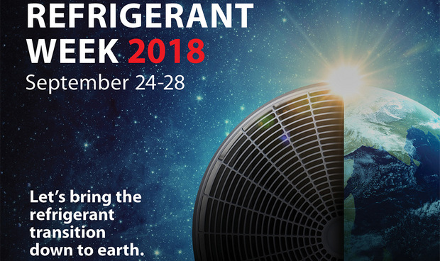 The 2nd annual Refrigerant Week Danfoss from September 24 to 28
