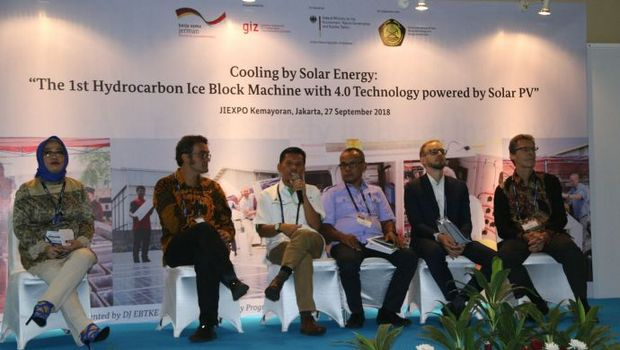 Solar R290 ice machine debuts at R&HVAC Indonesia 2018