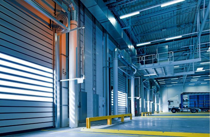 Thermal energy storage improves efficiency at warehouse