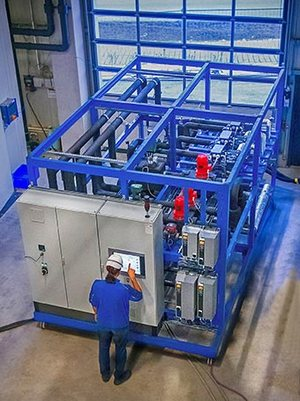 TÜV opens CO2 test bench