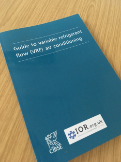VRF Guide published by IOR with CIBSE